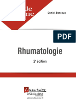 Livre de l'Interne - Rhumatologie