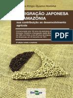 Livro Imigracao Japão Amazônia