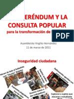 El Referendum y La Consulta Popular (11-Mar-11)