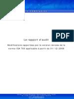 Le Rapport Audit