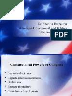 Chapter 5 - Congress (sp21)