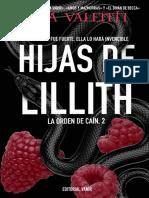 Hijas de lillith (La orden de cain 2)- Lena Valenti -holaebook