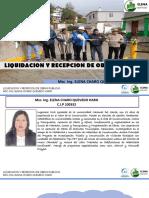 liquidacion y Recepcion de Obras