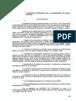 Formación de La Propiedad Territorial en La Jurisdicción de Nirgua Colonial. Siglos XVII-XVIII