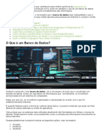 Banco de Dados - Definições e Importância Para Profissionais de TI