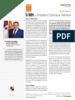 Lettre du Président Directeur Général du N°20 (2)