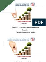 Chapitre 4 Plan de financement