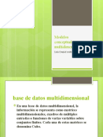 Modelos conceptuales multidimensionales