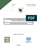 Phase I - Evaluation Effets Socioeconomic Du Covid19 Au Cameroun