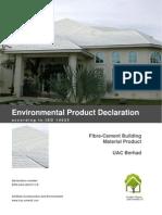 Environmental Product Declaration (UAC)