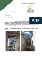Informe 12 de octubre