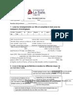 Examen Grammaire