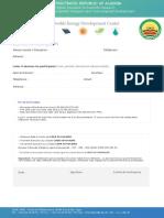 Bulletin d Inscription Formation CDER