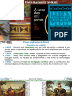 Slides de aula e estudo - Povos originários do Brasil