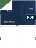 Poli Papeleria - Carpeta Oficio Bogota - 25x35cm