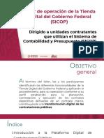 Taller de Operacion de La Tienda Digital Del Gobierno Federal SICOP