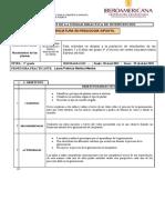 Formato modelo UNIDAD DIDÁCTICA DE INTERVENCIÓN