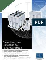 Capacitores para Correccion del Factor de Potencia WEG