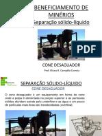 SEPARAÇÃO SÓLIDO_LÍQUIDO Cone Desaguador