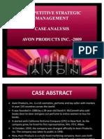 Competitive Strategic Management -Avon