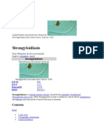 Strongyloidiasis