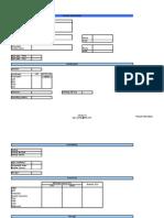 SAP sizing form v4
