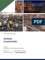 Programa Metrados en edificaciones