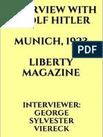 Hitler Entrevista ao Liberty Magazine