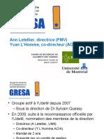 Presentation GRESA Final