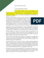 Punteo Historia contemporánea de América Latina (Halperin)