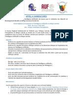 Appel à Candidatures Initiative Jeunes Intelligence Artificielle en Afrique Centrale UNESCO(003)