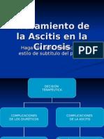 Tratamiento de la Ascitis en la Cirrosis[1]