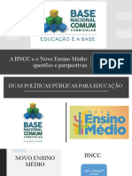 Palestra sobre a BNCC e Novo Ensino Médio