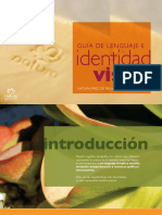 GUÍA DE LENGUAJE E. identidad. visual NATURA_ RED DE RELACIONES SUSTENTABLES