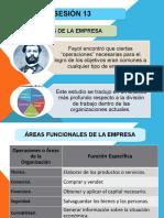 SESIÓN N° 13 - FUNCIONES DE LA EMPRESA