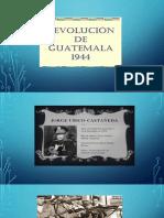 diapositiva revolución de octubre de 1944
