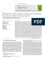 Aphidophagy by Coccinellidae- Application of biological control in agroecosystems