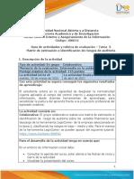 3. Guía de actividad y rúbrica de evaluación - Unidad 1 - Tarea 3 - Manual de control interno