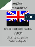 ANGLAIS Vocabulaire -2013