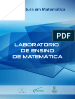 1 Laboratório de Ensino de Matemática