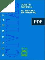Gordillo - El Método en Derecho