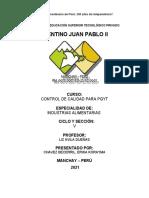 28.04.21 CONTROL DE CALIDAD DE MANÍ CONFITADO