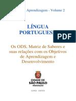 OADs Trilhas 2 Língua Portuguesa