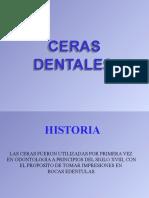 CLASE DE CERAS DENTALES.ppt exposicin