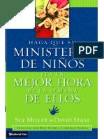 Haga Que Su Ministerio de Niños Sea La Mejor Hora de La Semana Decellos