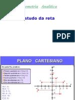 Geometria analítica - retas
