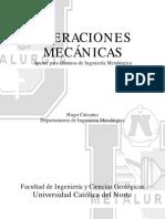 105665602 Operaciones Mecanicas Metalurgia Ucn 130227163848 Phpapp01