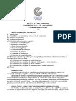 Parámetros de carpeta de producción ECTV v3.0