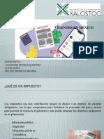 4.2 Tipos de impuestos vigentes en México