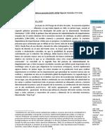 30 años de políticas económicas en Argentina I